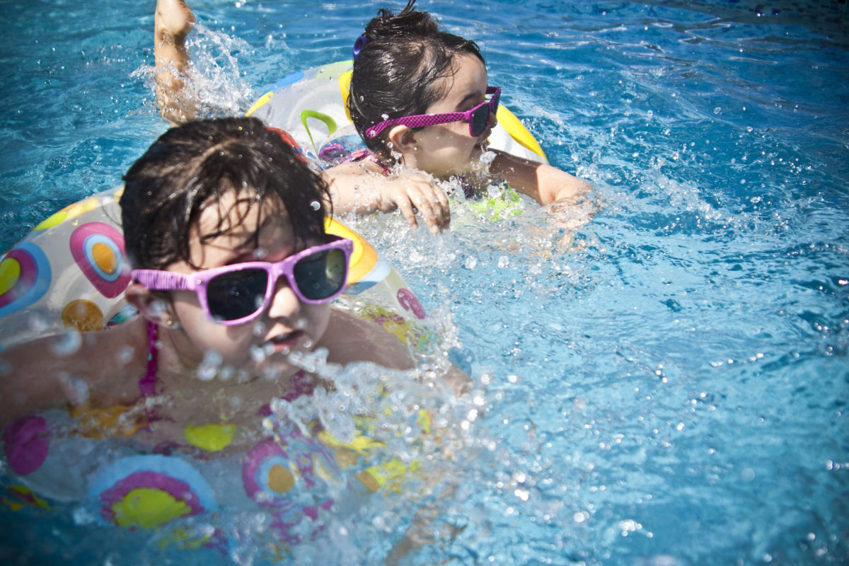 a pool checkup keeps your kids swimming